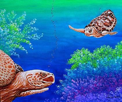 Sea Turtles by Carol Sabo