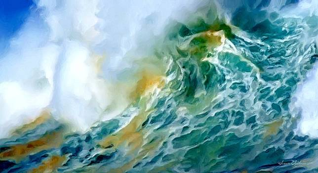 Sea Waves by Susanna  Katherine