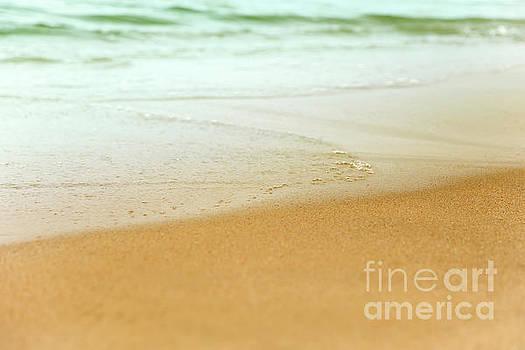 Sea Wet Sand by Aleksey Tugolukov