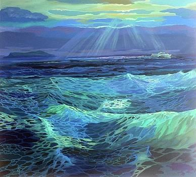 Sea by Yavuz Saracoglu