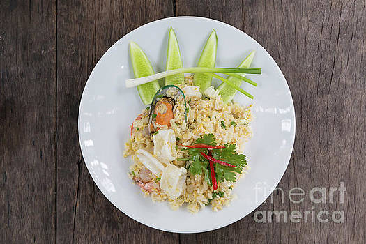 Seafood Fried Rice by Atiketta Sangasaeng