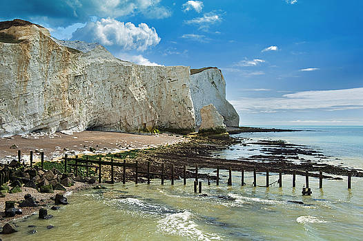 Seaford Cliffs by Donald Davis