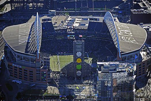 Seahawk Stadium by Jack Moskovita