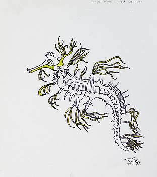 Seahorse by Dean Italiano