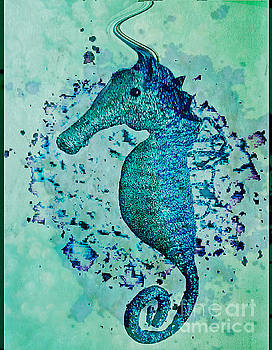 Pamela Smale Williams - SEAHORSE GLITTERATI