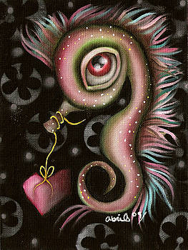 Abril Andrade Griffith - Seahorse with Heart