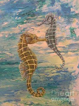 Seahorses by Jana Furzer