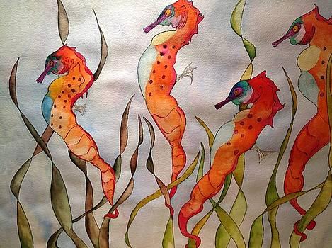 Seahorses by Robert Hilger