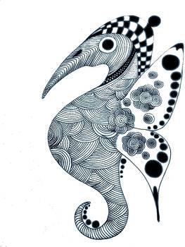 Seahorses by Rudolf Sechovec