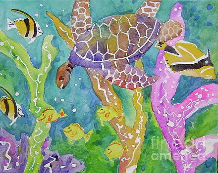 Sealife ll by Diane Renchler
