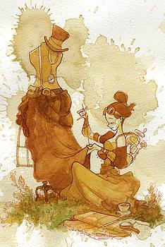 Seamstress by Brian Kesinger