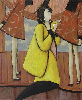 Seamstress by Glenn Quist
