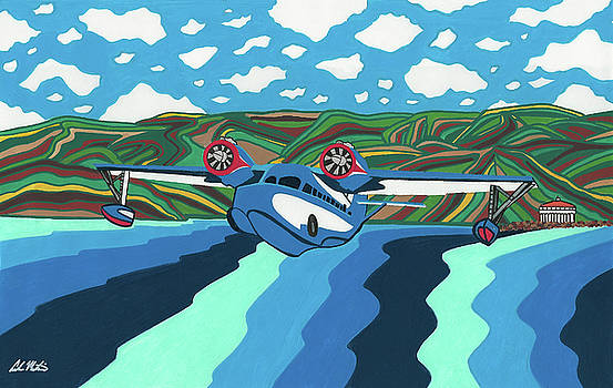 Seaplane 1 by Carlos Martinez