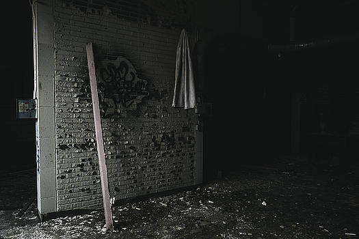 Searching - Abandoned Building Interior by Dylan Murphy