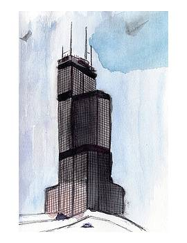 Sears Tower by Elizabeth Rye
