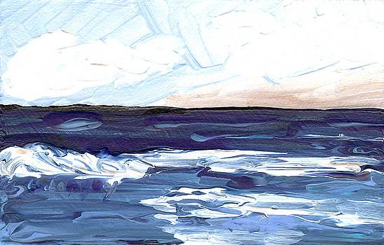 Seascape 1 by Helena M Langley