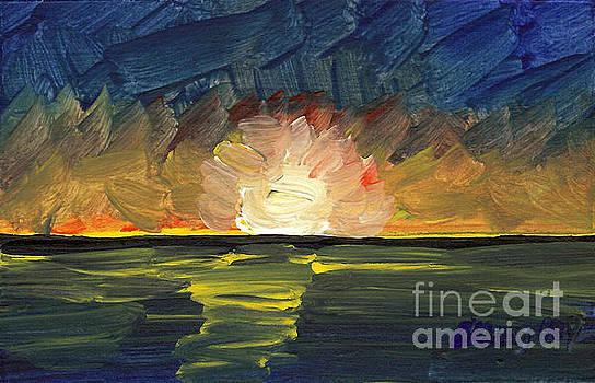 Seascape 12 by Helena M Langley