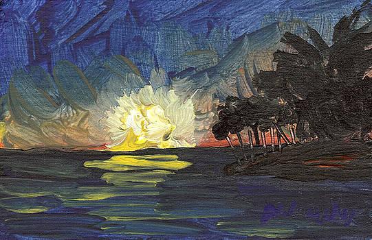 Seascape 15 by Helena M Langley