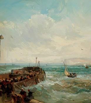 Webb James - Seascape 1875