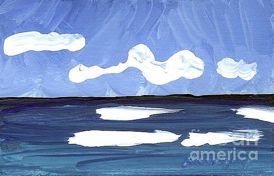 Seascape 4 by Helena M Langley