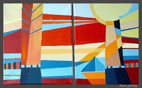 Seascape by Carola Ann-Margret Forsberg