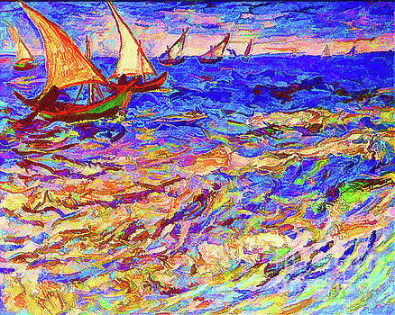Seascape by D Fessenden