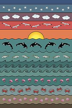 Seascape by Debi Dalio