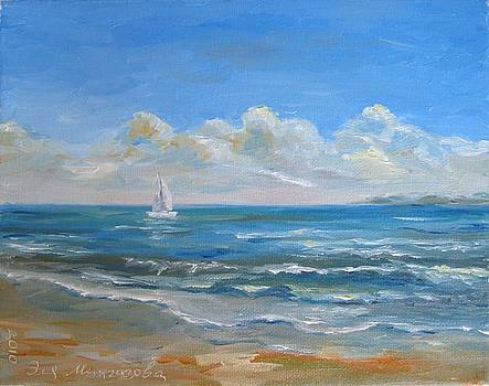 Seascape by Eleonora Mingazova
