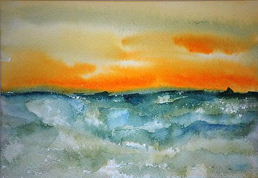 Seascape II by Neva Rossi