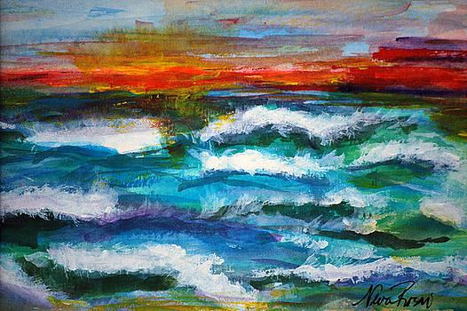 Seascape III by Neva Rossi