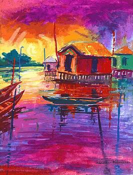 Seascape by Okemakinde John abiodun