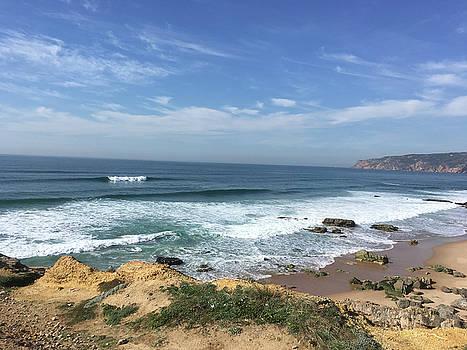Seascape - Portugal #1 by Susan Grunin