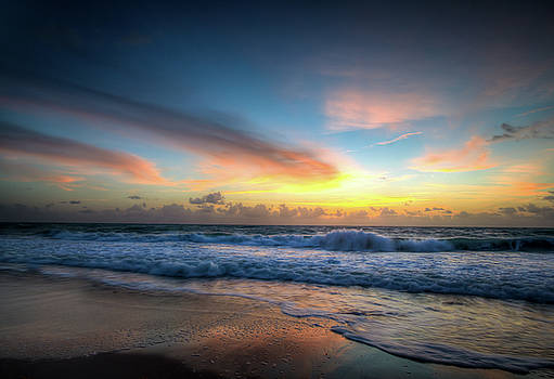 Seascape Sunrise by R Scott Duncan