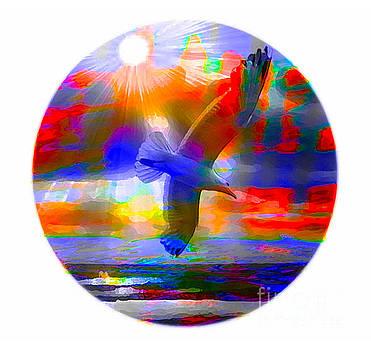 Algirdas Lukas - Seascape With Seagull