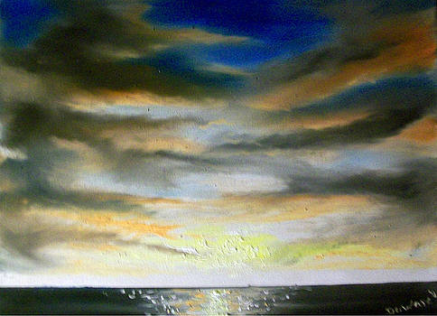 Seascape#4 by Raymond Doward