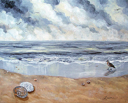 Laura Iverson - Seashells in the Gray Dawn