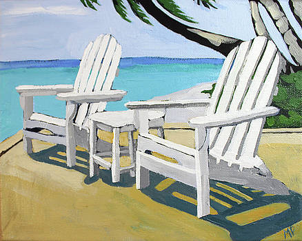 Seaside Chairs by Melinda Patrick
