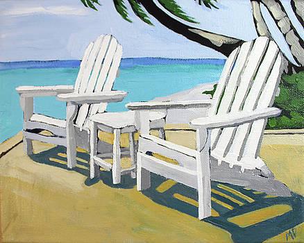 Seaside Chairs by Melinda Patrick