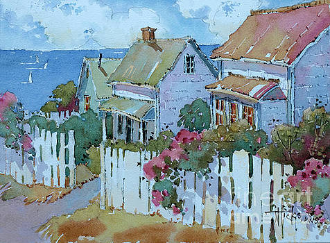 Seaside Cottages by Joyce Hicks