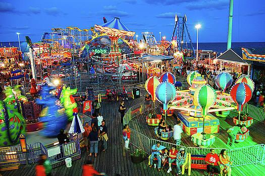 Seaside Heights Casino Pier by James Kirkikis