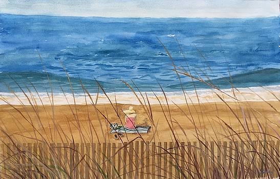 Seaside in Massachusetts by Christine Lathrop