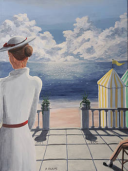 Seaside Patio by Dave Rheaume