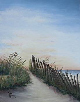 Seaside Sunrise by Mary Rogers