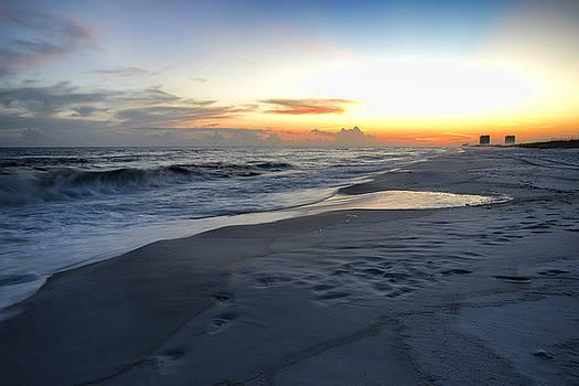 Seaside Sunset by Renee Hardison
