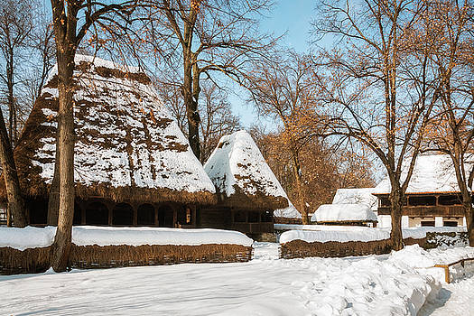 Season greetings from a picturesque Romanian village by Daniela Constantinescu