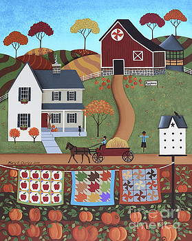 Seasons of Rural Life - Fall by Mary Charles