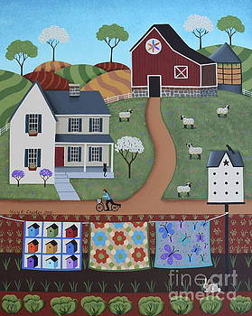 Seasons of Rural Life - Spring by Mary Charles