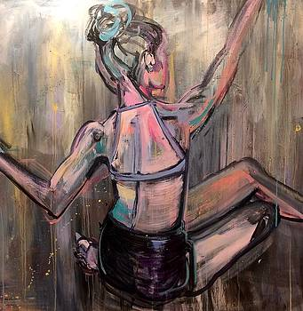 Seated Dancer by Mary Gallagher-Stout
