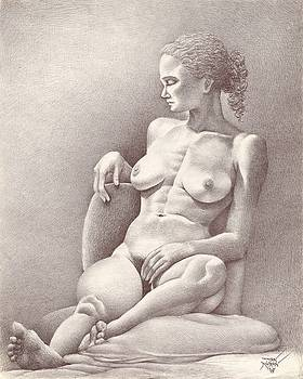 Seated Figure No. 6 by Dan Moran