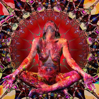 Red Lakshmi by Paul Pinzarrone